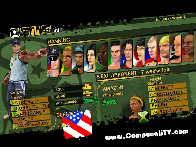 Capturas Propias Martial Arts Capoeira PC Game