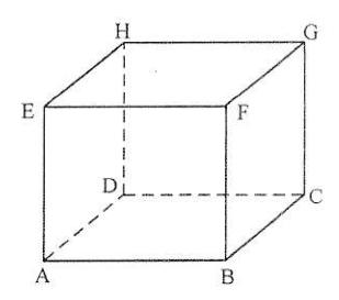 Soal no. 28 Gambar Kubus