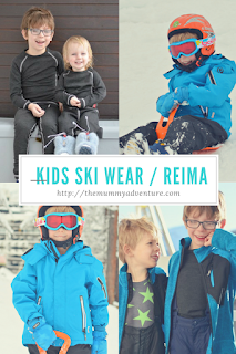 Reima ski wear, family ski wear, themummyadventure.com