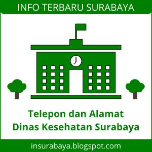 Telepon Alamat Dinas Kesehatan Surabaya