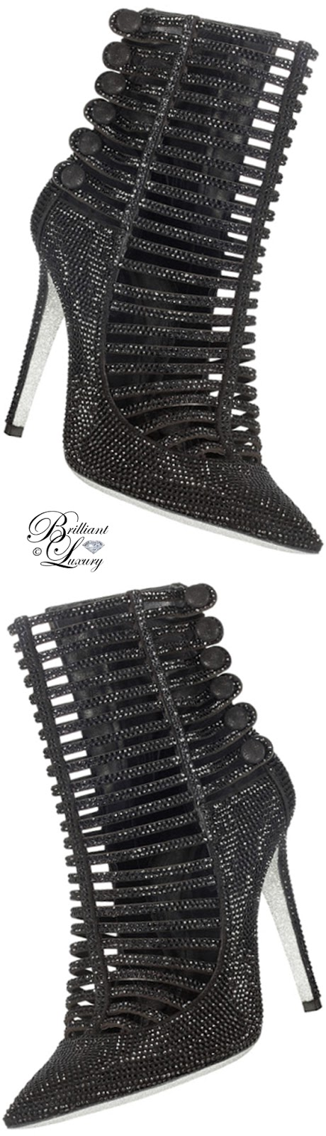 Brilliant Luxury ♦ Rene Caovilla booties