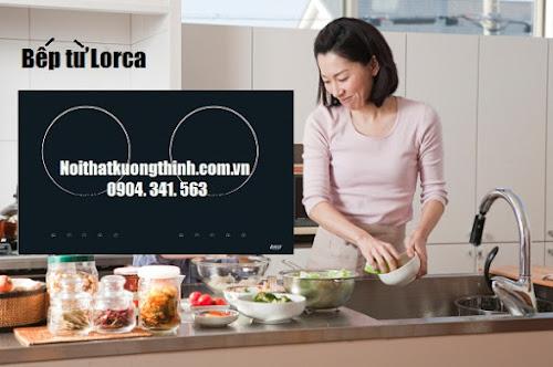 Nội thất Kường Thịnh chuyên phân phối bếp từ Lorca chính hãng