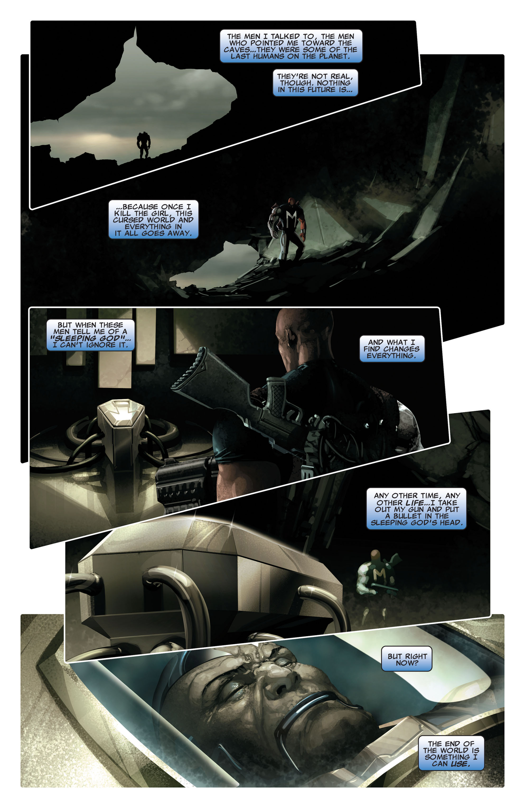 Read online X-Force (2008) comic -  Issue #14 - 4