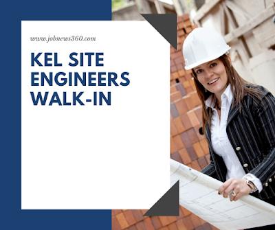 KEL Site Engineers Walk-In 2018