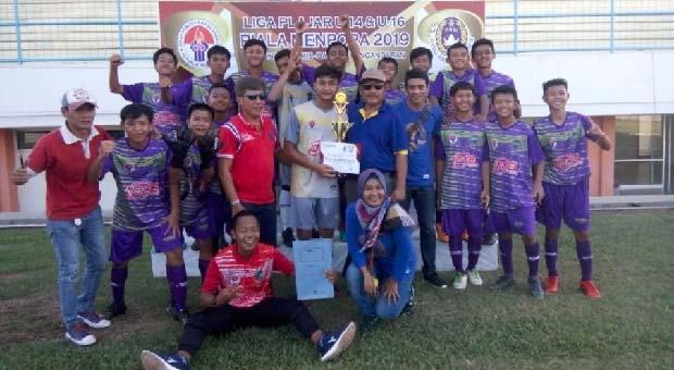Tim Askab PSSI Ciamis U-16 Sabet Juara Piala Menpora 2019