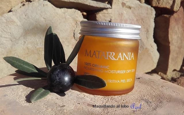 Hidratante Nutritiva Bio para Pieles Secas de Matarrania