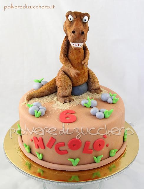 cake design cake art dinosauro pasta di zucchero dinosaur polvere di zucchero dinosaur cake