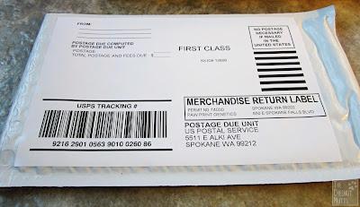 Canine HealthCheck padded envelope