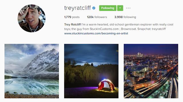 Follow @treyratcliff on Instagram