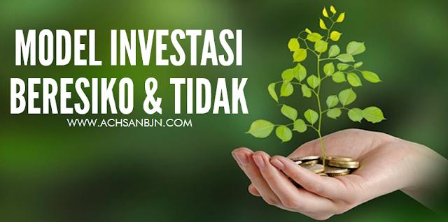 Model Investasi Yang Beresiko dan Bebas Resiko