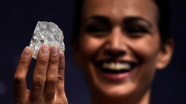 Este diamante de 1.109 quilates es demasiado grande para ser vendido