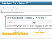 Download Jadwal Ujian Ulang UTN 1 Tahun 2017 Lengkap Dengan Materi UTN