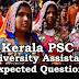 Kerala PSC Model Questions for University Assistant - 85
