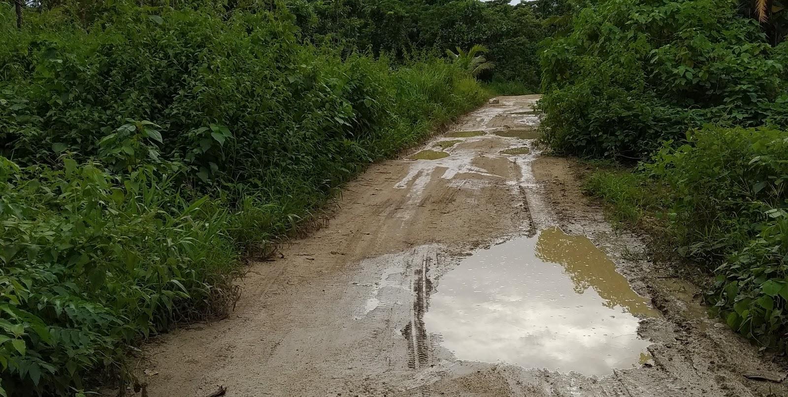 TPA di Talaud Mubasir, 4 kilo meter Jalan Masuk ke Lokasi Rusak Parah