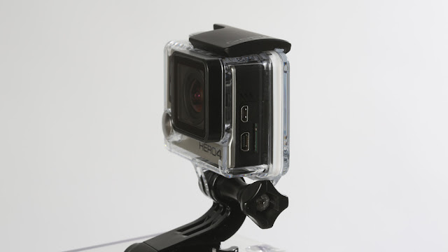 GoPro Hero 4 Silver: Action Cam with touchscreen