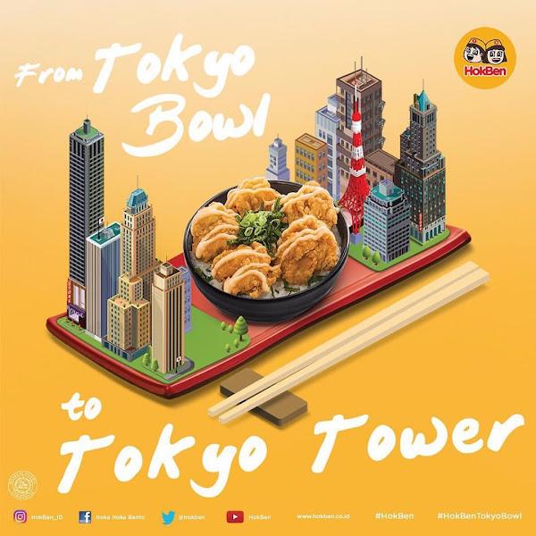 Menikmati Menu Terbaru HokBen Tokyo Bowl Berkesempatan Liburan Ke Jepang