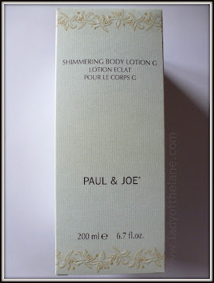 Paul & Joe Shimmering Body Lotion
