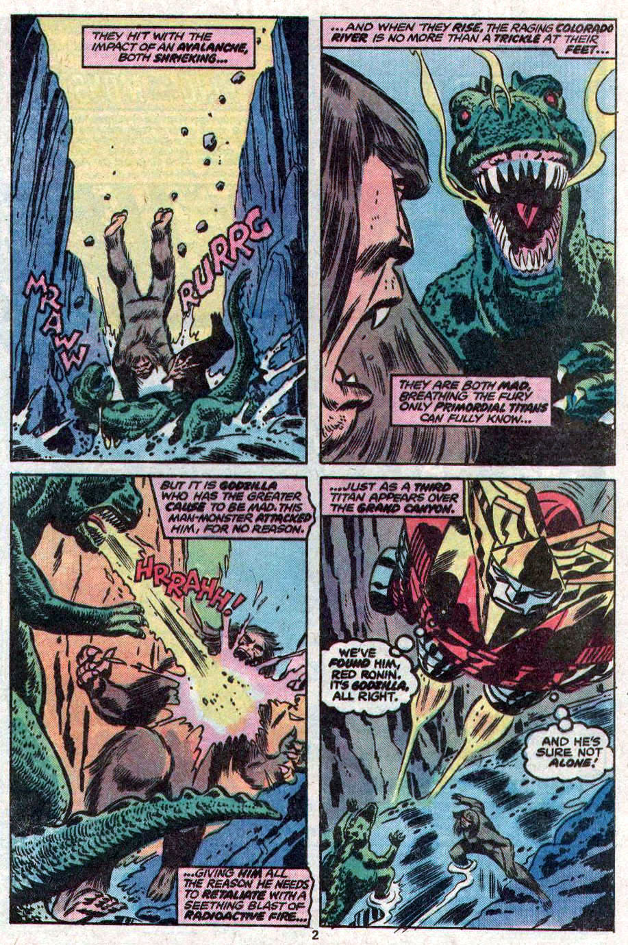Godzilla (1977) Issue #11 #11 - English 3