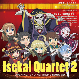 Isekai Quartet 2 Theme Song CD