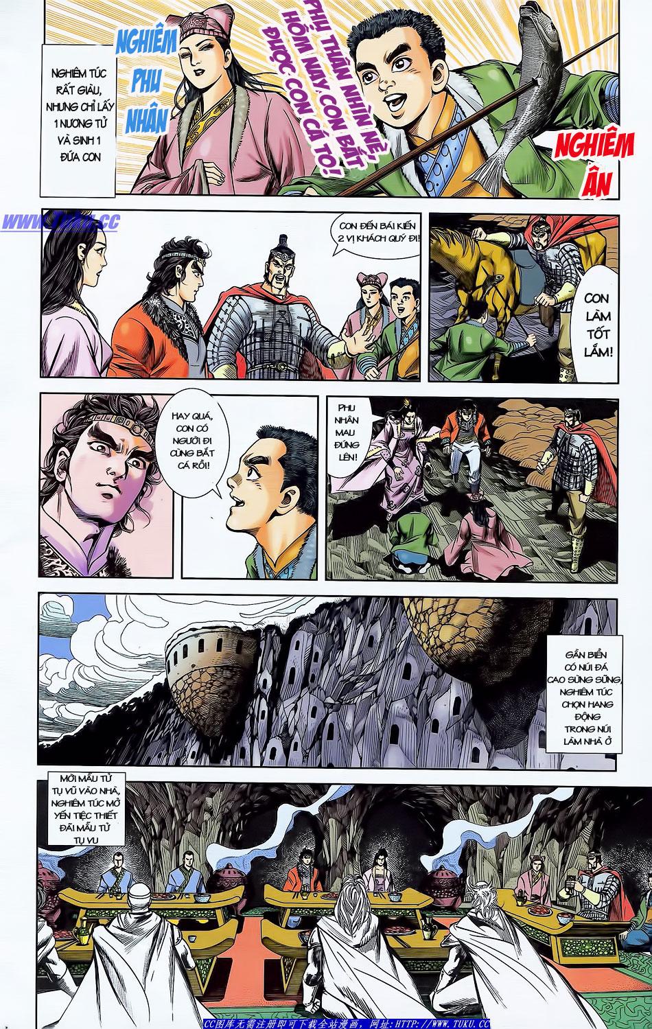 Tần Vương Doanh Chính chapter 4 trang 19