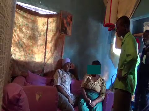 VIDEO - OLD KENYAN MAN CAUGHT ON TAPE BANGING OLD MARRIED WOMAN (HUSBAND WALKS IN ON THEM!!)