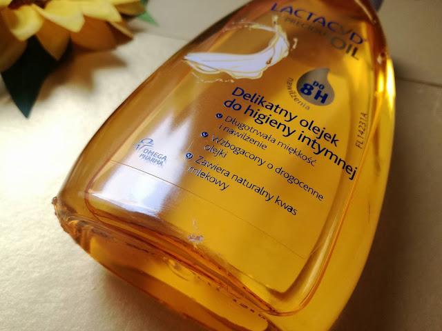 LACTACYD Precious Oil | delikatny olejek do higieny intymnej