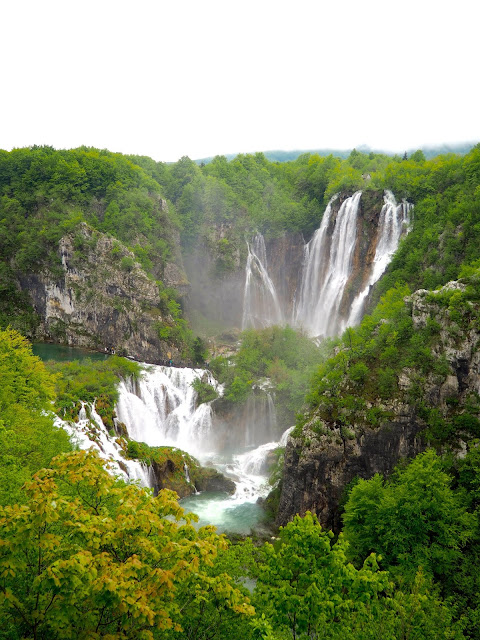 Big Waterfall at Plitvice Lakes National Park, Croatia