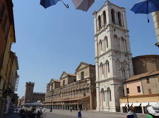 Ferrara, Piazza del Duomo.