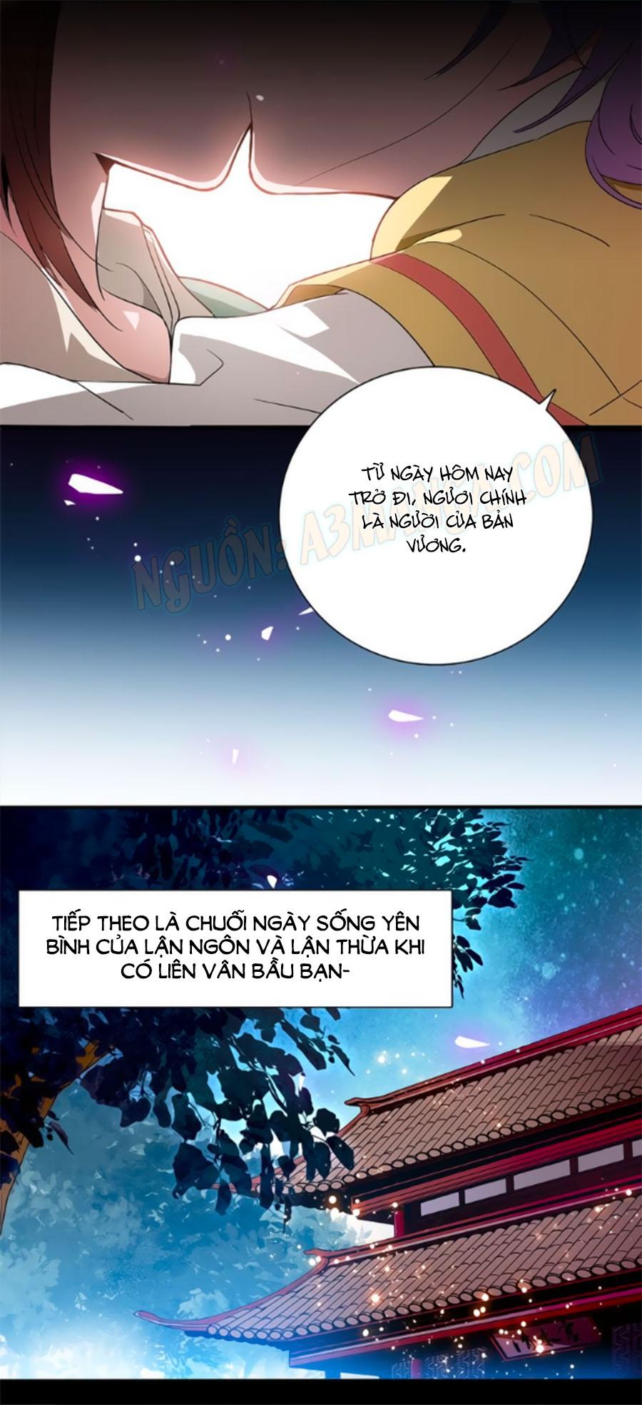 Hoàng Thượng! Hãy Sủng Ái Ta Đi! Chap 27