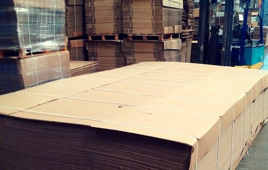 planchas de carton grandes
