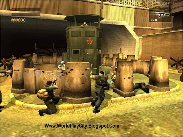 Freedom Fighters PC Game High Compressed Free Download