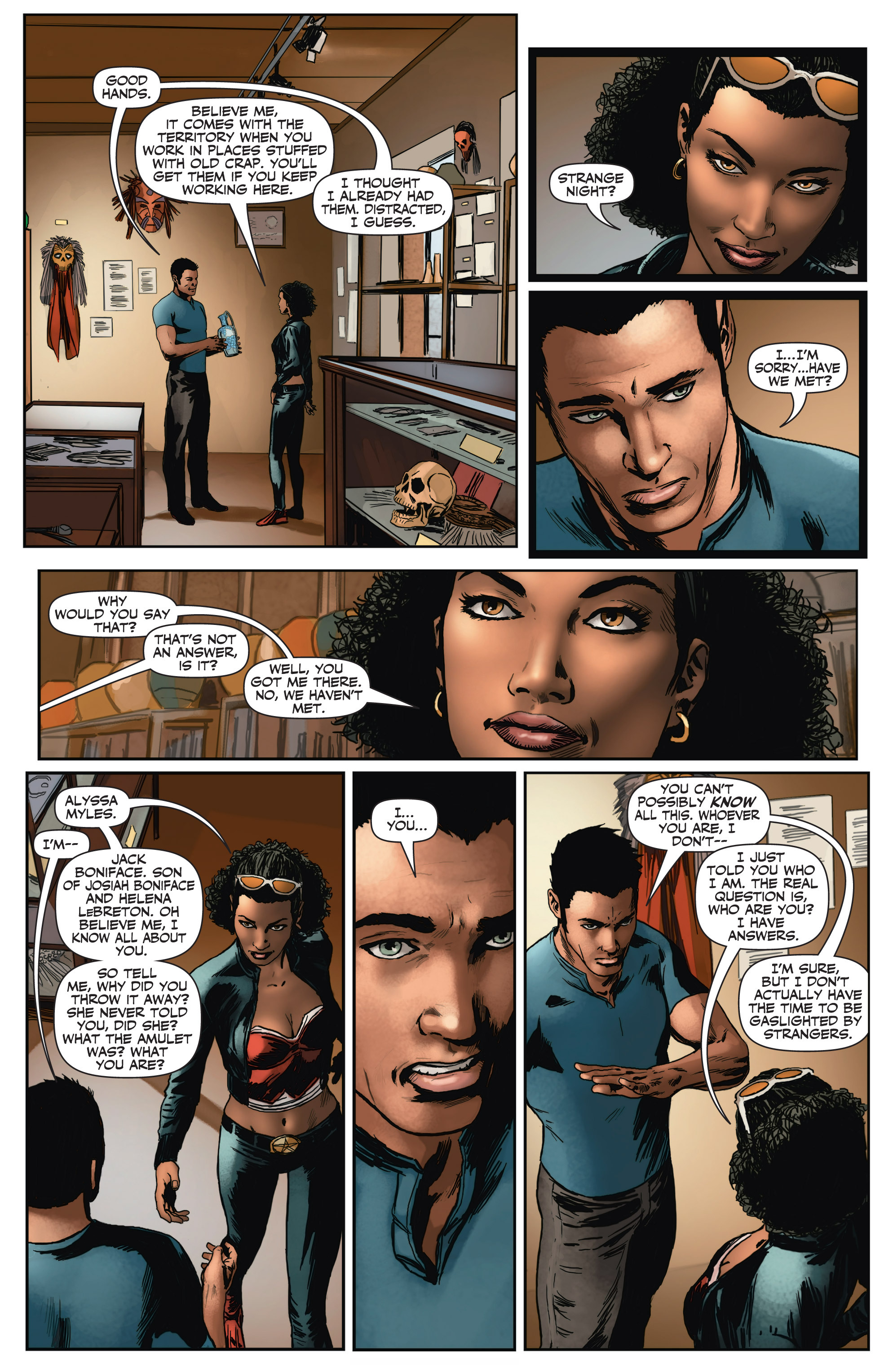 Read online Shadowman (2012) comic -  Issue #2 - 19