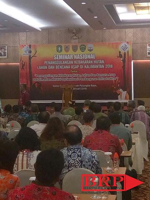 Infrastruktur Kalimantan Harus Ditingkatkan untuk Tanggulangi Bencana Karhutla dan Kabut Asap