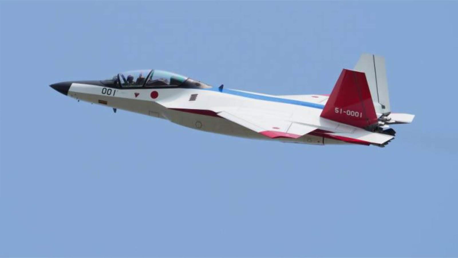 Jepang akan menciptakan pesawat tempur generasi kelimanya sendiri