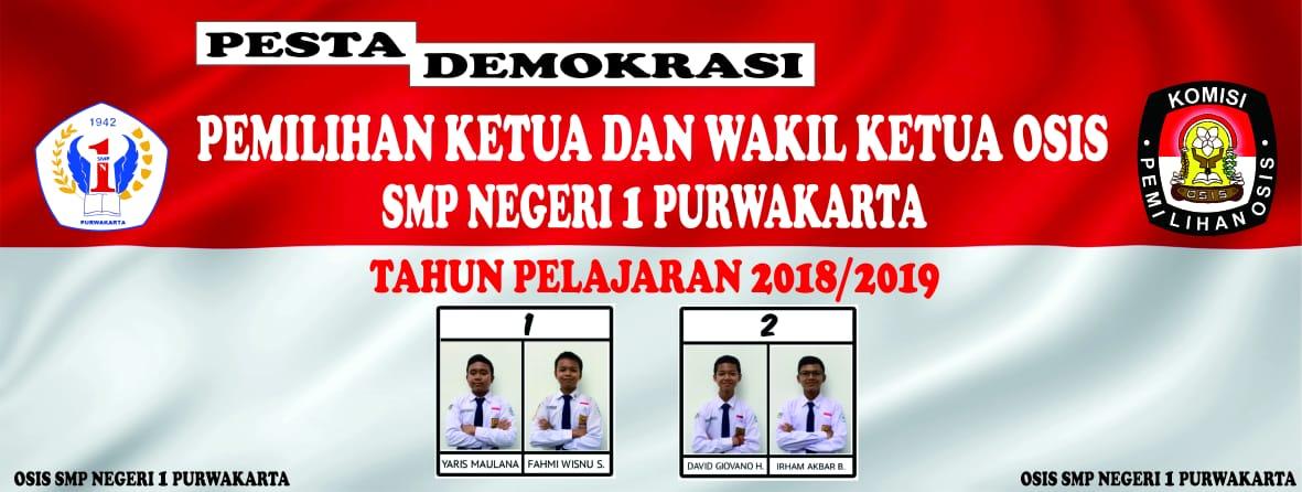 Belajar Demokrasi Begini Pemilihan Ketua Osis Smp Negeri 1