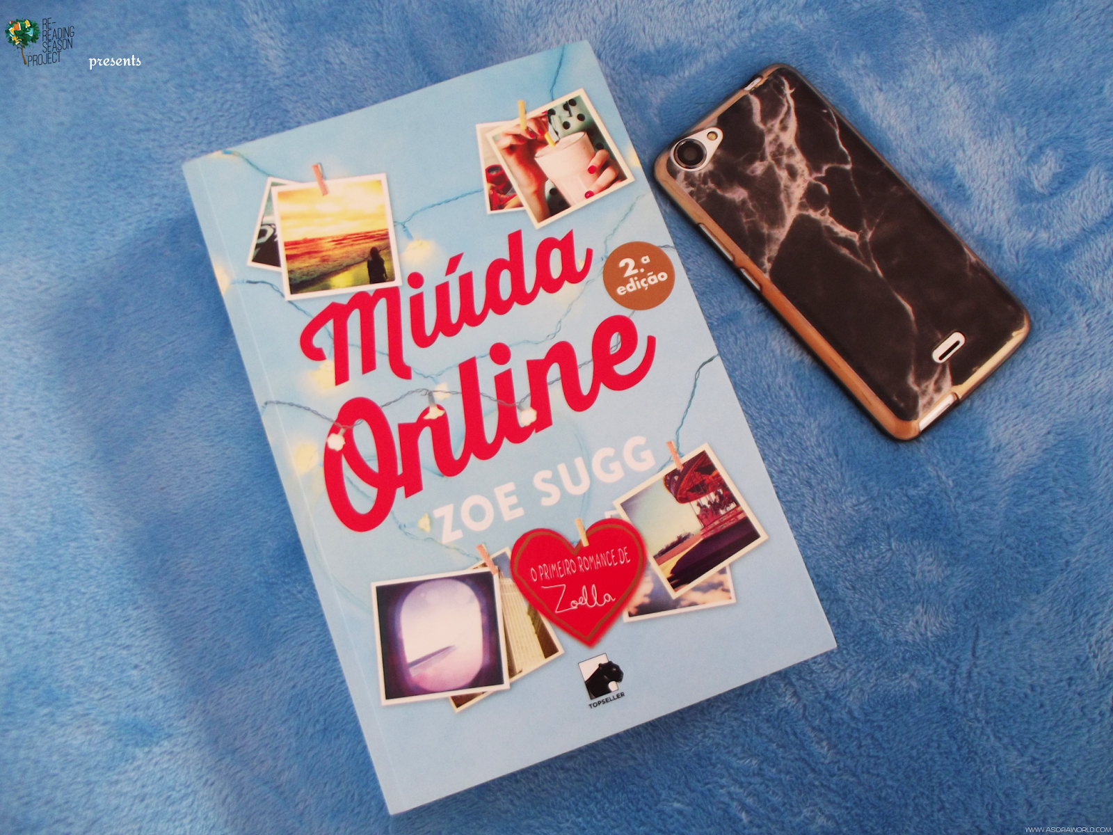 Book Review for the #RRSP17: Girl Online, by Zoe Sugg [2015]