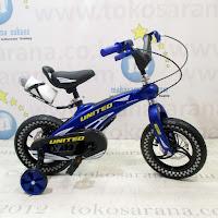 Sepeda Anak United Aero Rangka Aloi 12 Inci