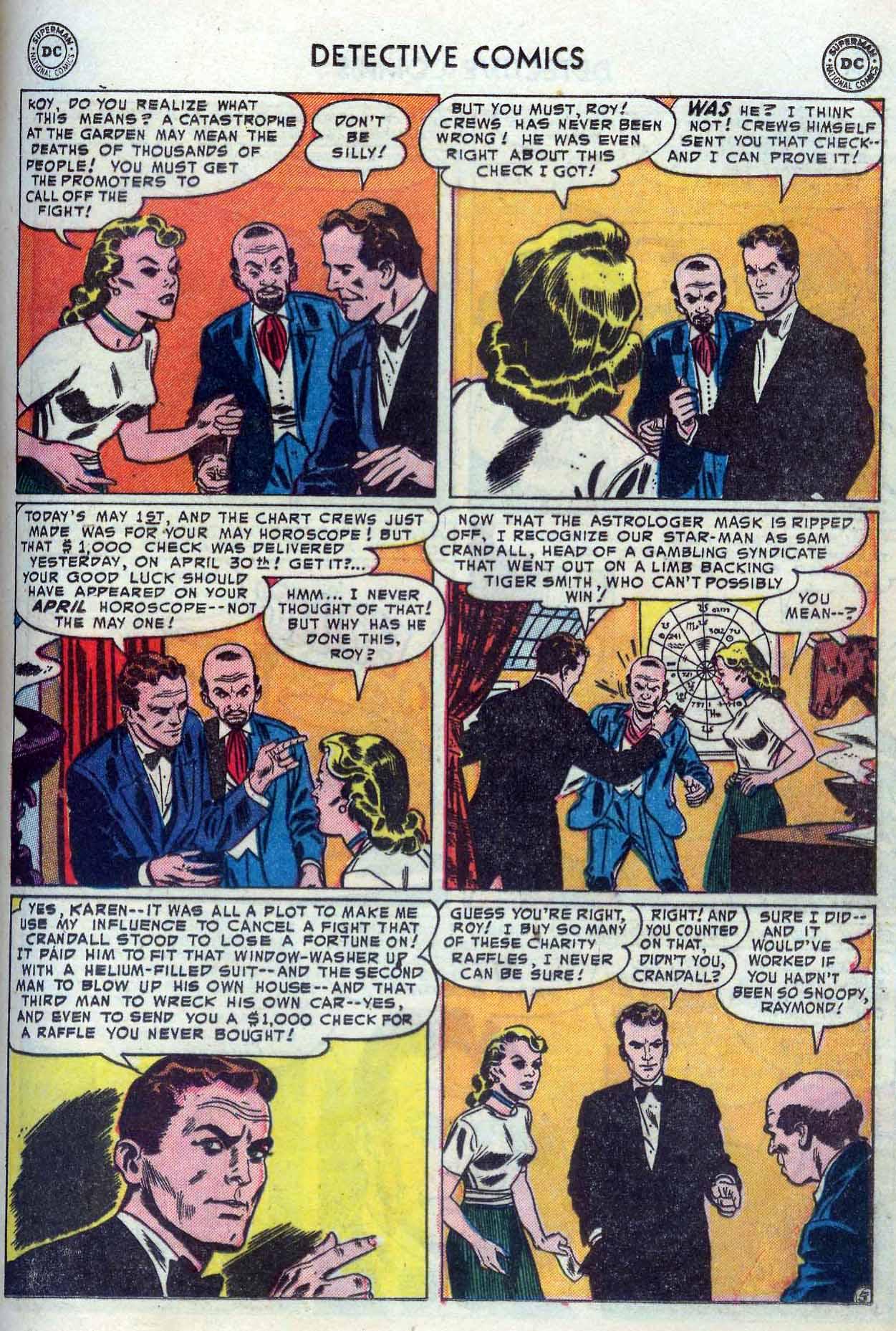 Read online Detective Comics (1937) comic -  Issue #204 - 21