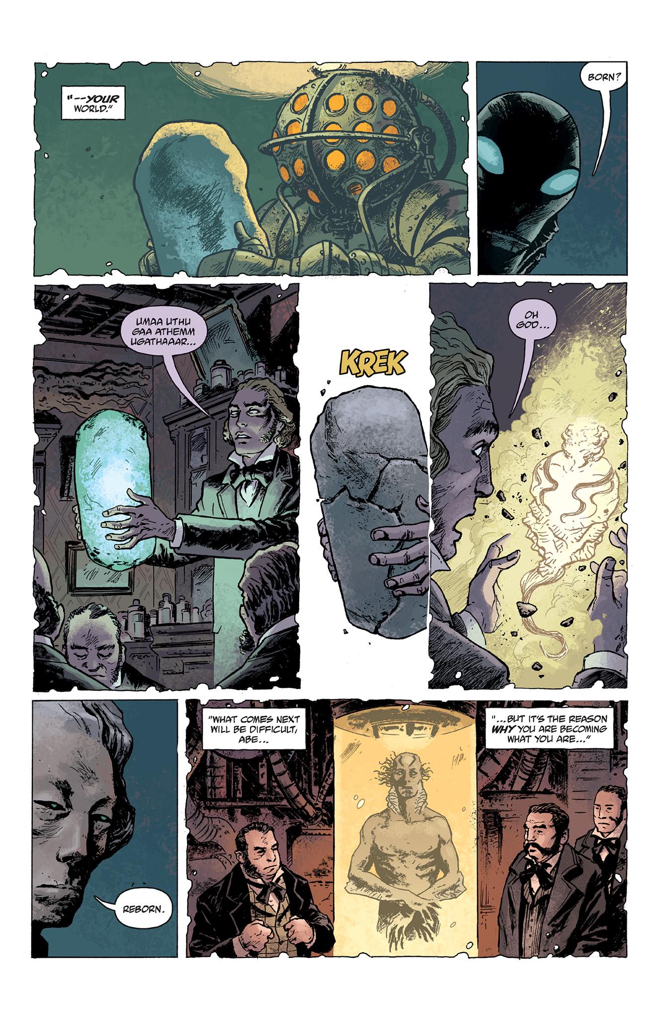 Read online Abe Sapien comic -  Issue #2 - 5
