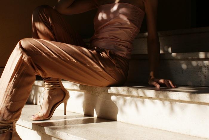 pink top satin outfit francinesplaceblog