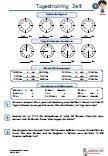Uhrzeit Zeit Uhr 4.Klasse PDF