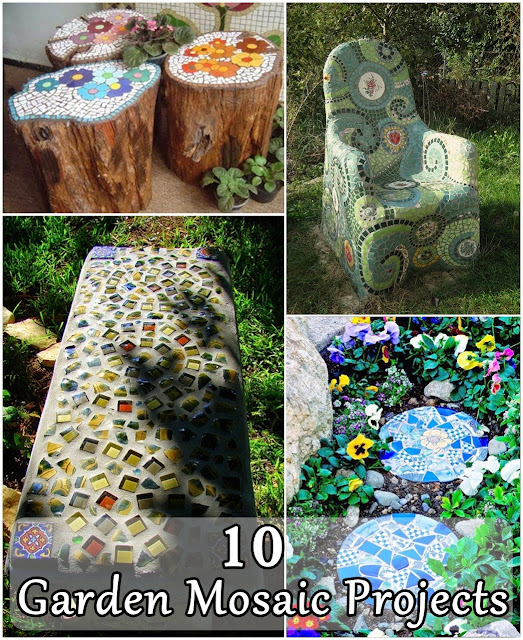 10 Garden Mosaic Projects