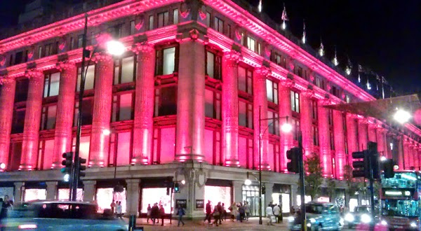 Selfridges en Oxford Street