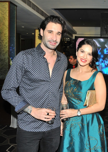 6. Daniel Weber with Sunny Leone