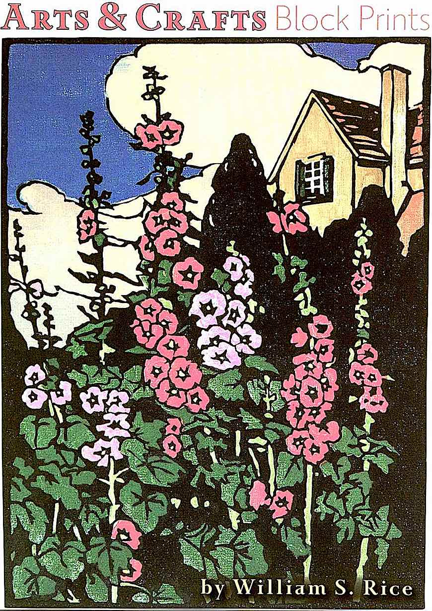 a William Seltzer print of flowers