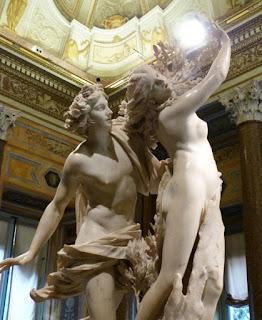 Apolo e Dafne, Bernini, Galleria Borghese, Roma