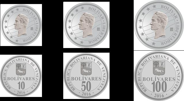 Los nuevos billetes y monedas de Venezuela. Monedas y billetes de Venezuela. Nuevos billetes y monedas que circularan en Venezuela.