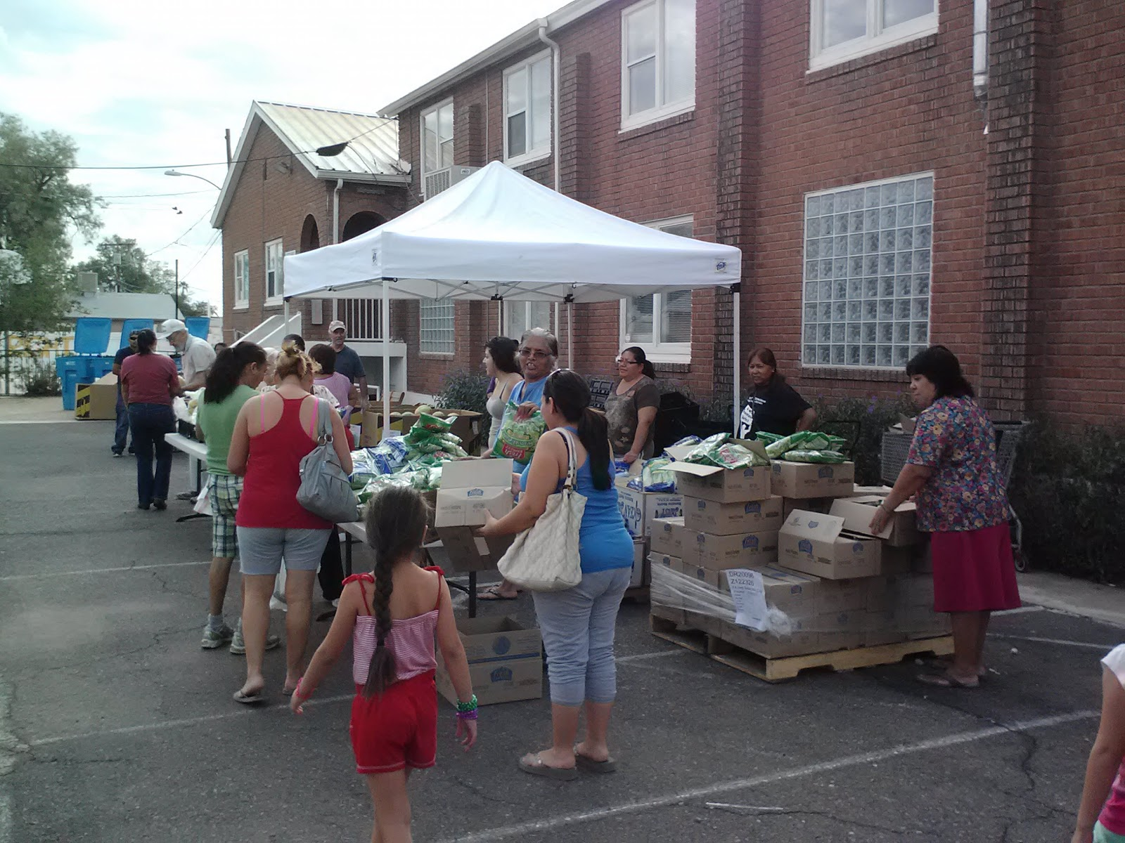 St Mary S Food Bank Mobile Pantry