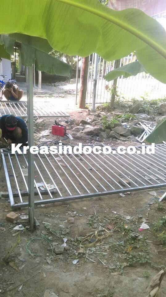 Proses Pembuatan Pintu Pagar Di Cirebon Bengkel Las Listrik