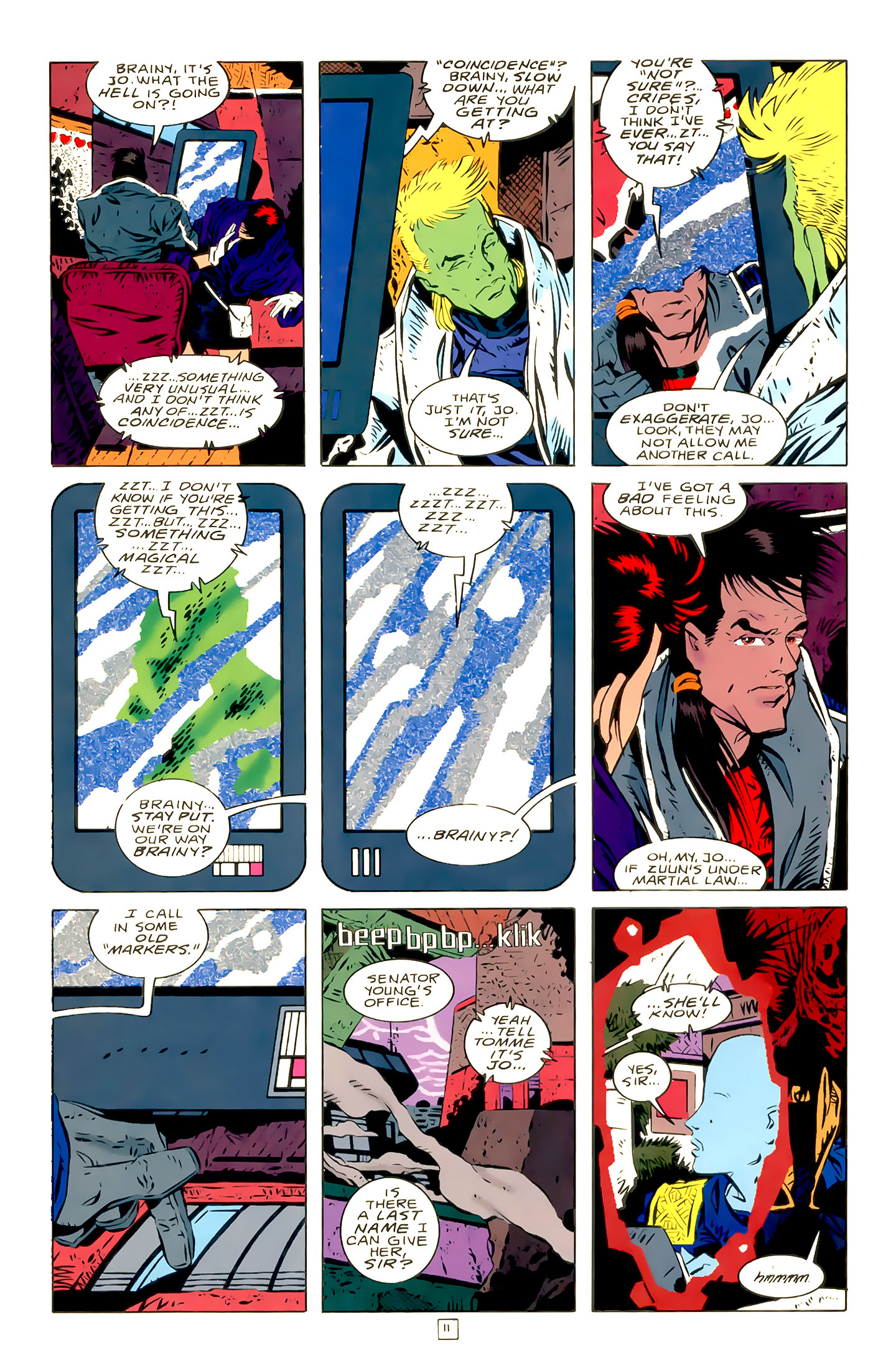 Legion of Super-Heroes (1989) 21 Page 11